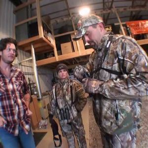 Blake Shelton is ready to hunt.